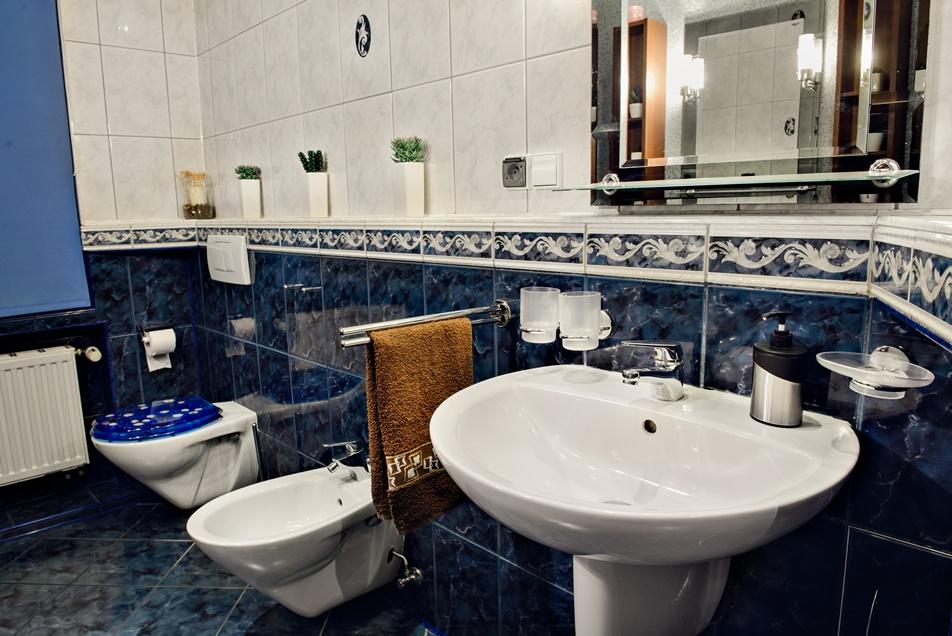 Łazienka toaleta apartament szczecin