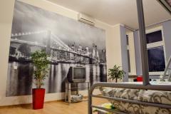 Apartament pokój fototapeta