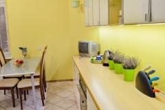 Piękna wyposazona kuchnia apartament